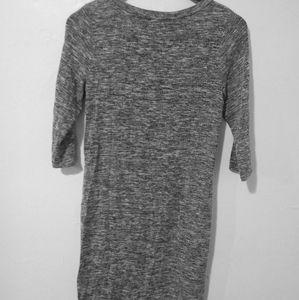 Bodycon grey dress